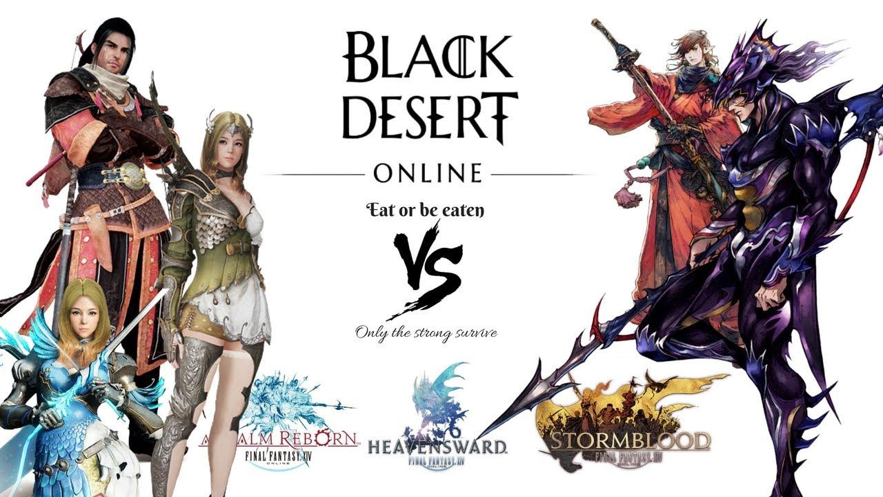 Black Desert Online Vs Final Fantasy Xiv Mmosumo